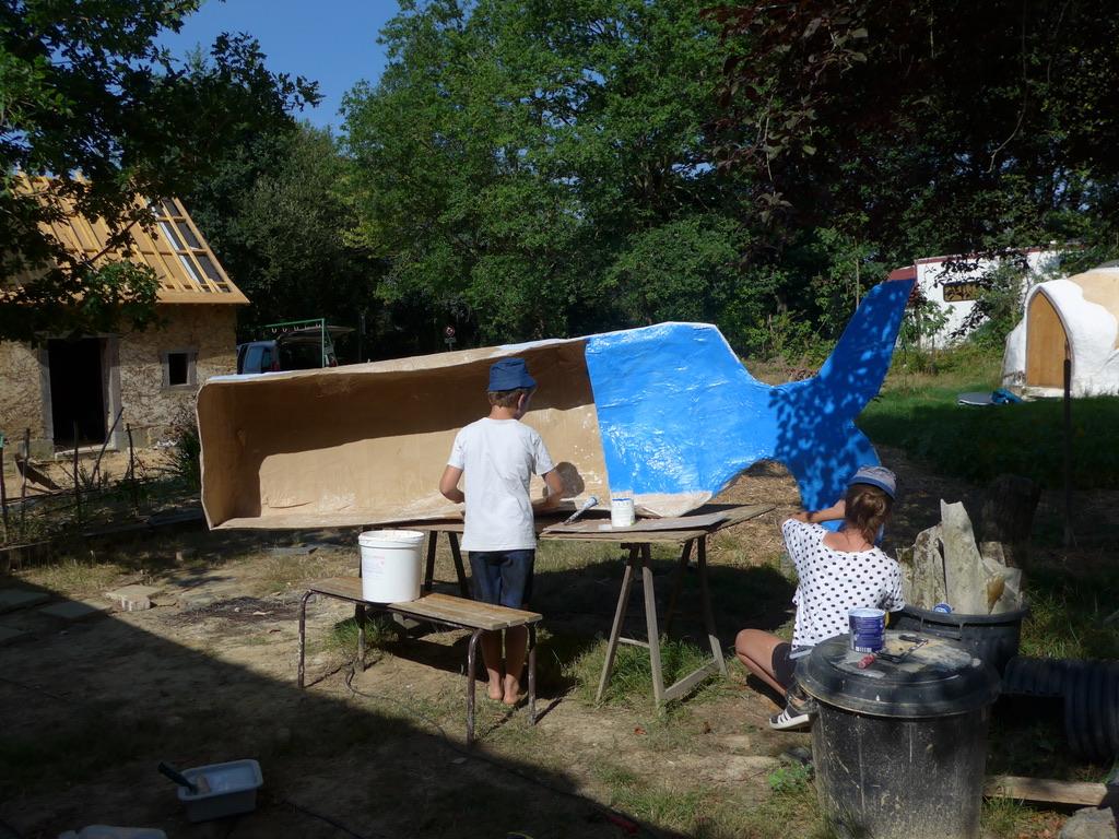 GPAS Construction bateau carton