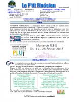 Février 2018 Le P'tit Finésien