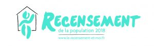 Logo INSEE recensement de la population 2018