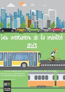 Affiche aventuriers mobilité juin 2018