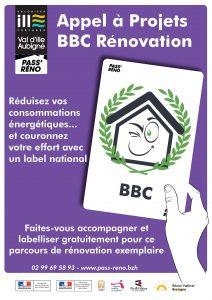 Affiche AAP BBC rénovation