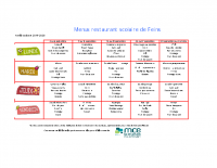 2019-09 menu cantine