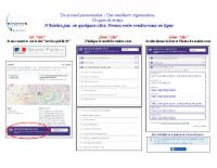 Gendarmerie 35 – Guide prise RDV en ligne