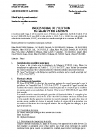 CM 28 mai 2020 – élection maire et adjoints